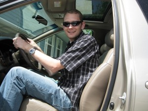 Curtis and the New Toyota Sienna