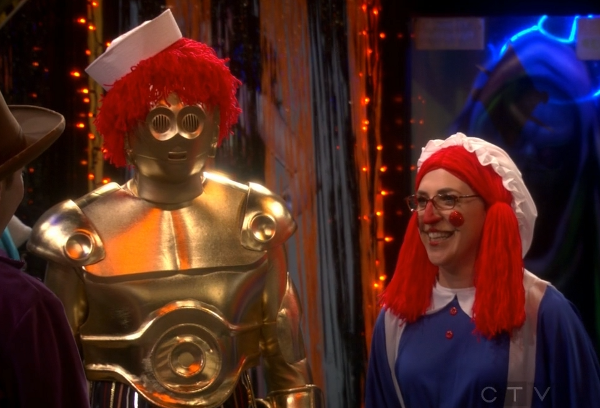 Sheldon Raggedy C-3PO