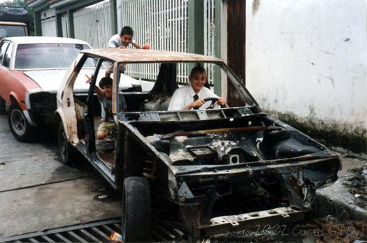 The awesome set of wheels I had in Boconó, Trujillo, Venezuela
