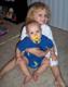 Audrey con Nathan, Sept. 2008