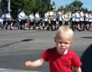 View - Nathan dances at the Steel Days parade