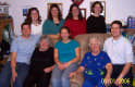View - Wanda Slayton, her daughter Judy Shefchik, and Judy's seven children