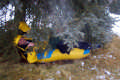 View - Going Tubing - Byron After Crashing into a Tree