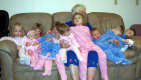 View - Wanda Slayton and Her Great-grandchildren, January 2006