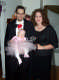 View - Halloween 2005 - Curtis as Dracula, Sarah as Dracula's Bride, Audrey as a Ballerina