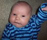 View - Nathan on the floor (4 weeks old)