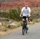 View - Curtis rides a bike on our vacation in St. George, Utah