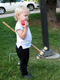 View - Jeremy Ranch 2007 - Audrey plays croquet
