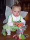 View - Halloween 2006 - Audrey (in her Tinkerbell costume) with her candy